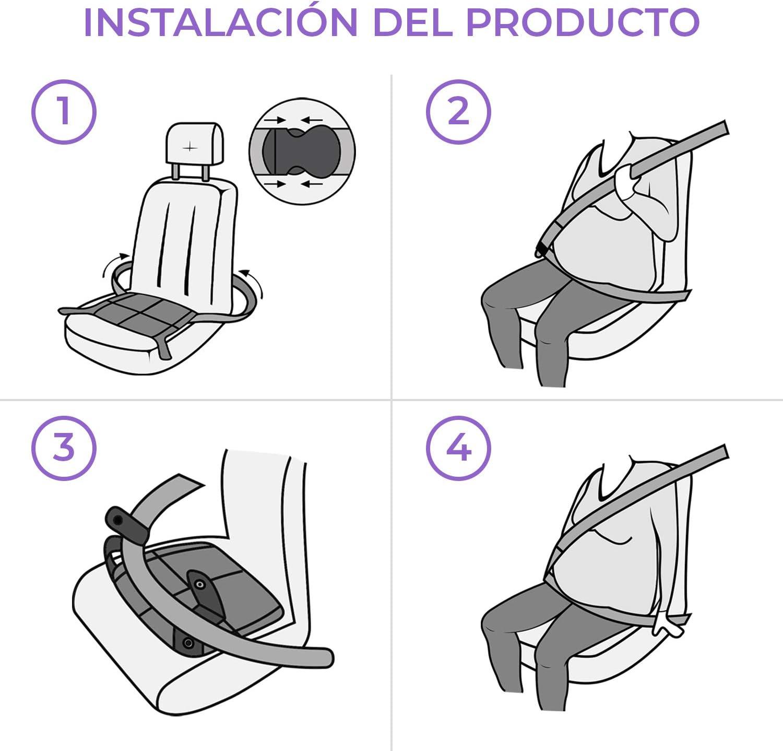 Cinturón de Seguridad para Embarazada en el Coche | Protege al ...