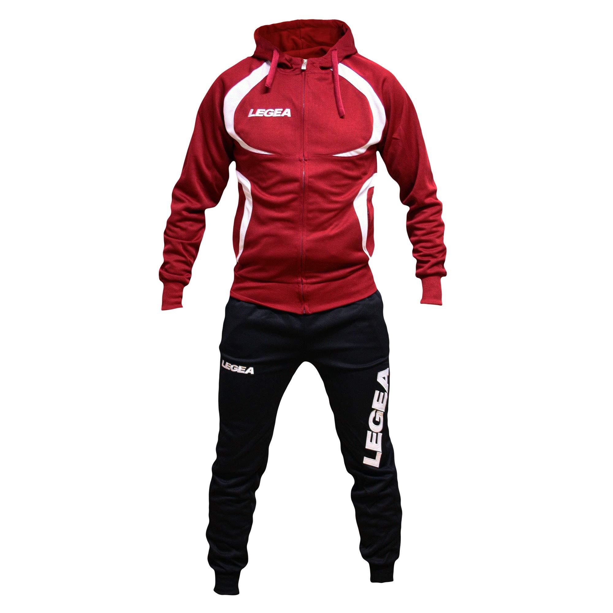 Perseo Sport Tuta Legea Tunisia T110 Uomo Allenamento Fitness Calcio Tempo  Libero Vari Colori e TG a9283892bd1