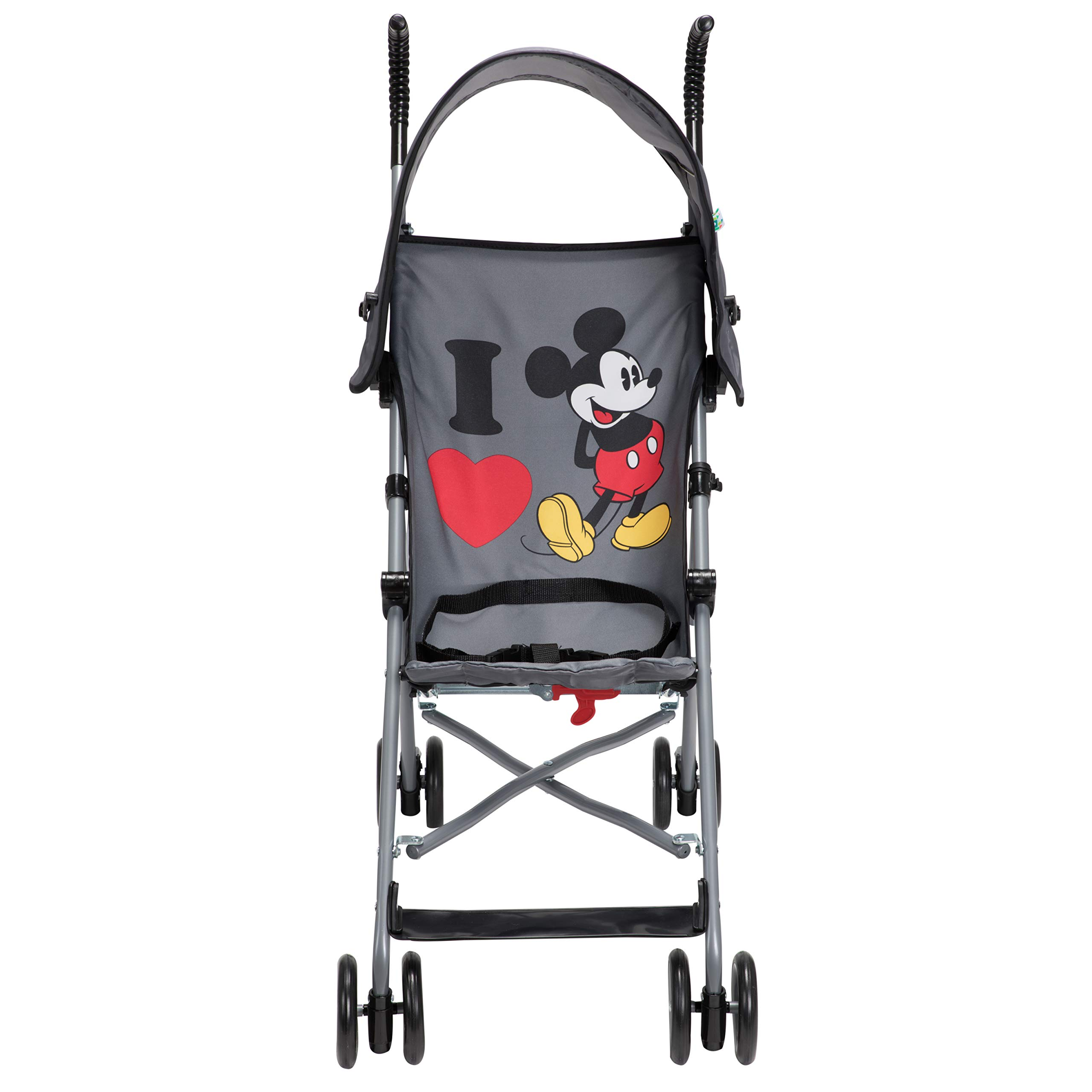 Disney Umbrella Stroller with Canopy, I Heart Mickey by Disney (Image #3)