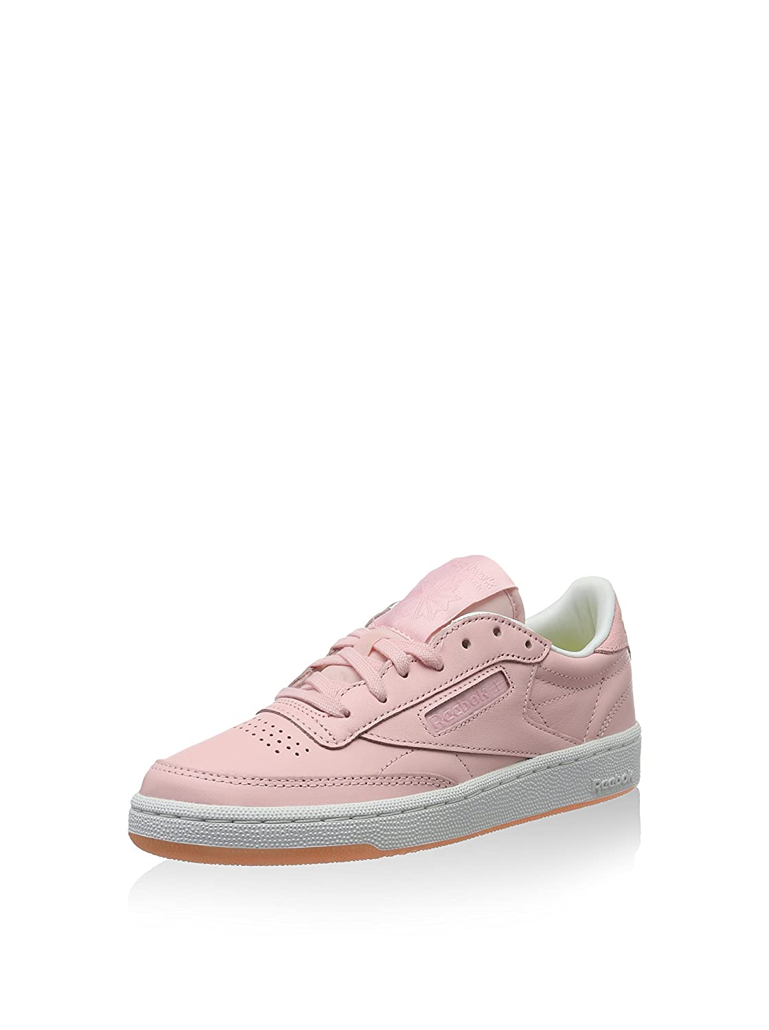 Reebok Damen Club C 85 Face Sneaker, Rosa, 35.5 EU: Amazon
