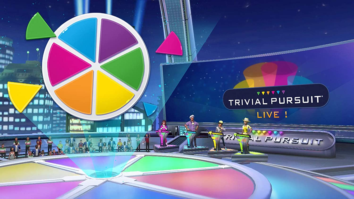 Trivial Pursuit Live Digital Code Video Games