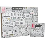 I Style My Home - Coastal Houses - Placemats and Coasters Set