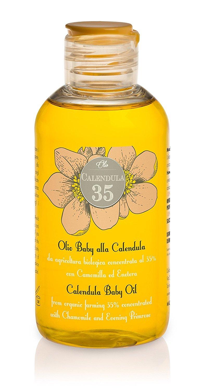 Calendula 35-100% NATURAL - Aceite para el cuerpo a base de caléndula concentrada al 35% - Para niños y adultos - Con vitaminas E y F: Amazon.es: Belleza