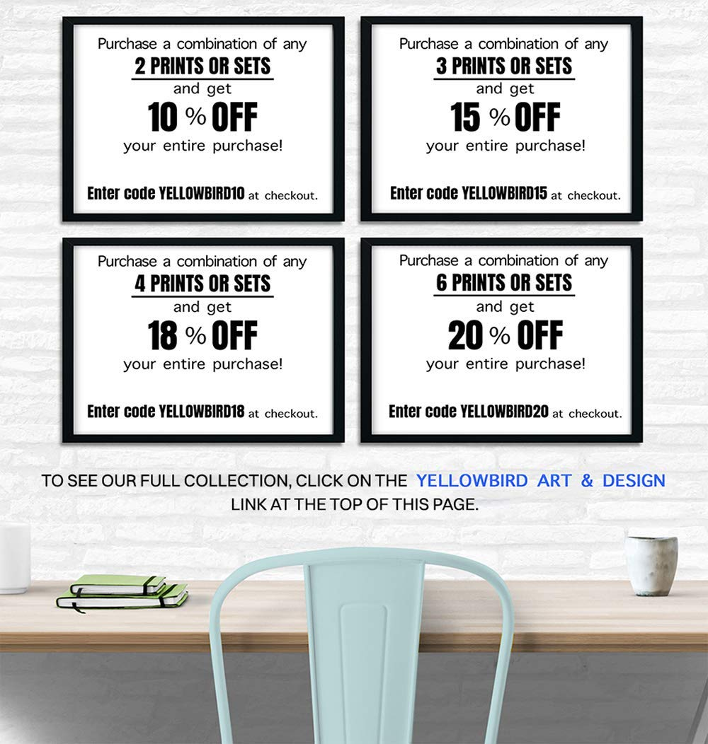 Unique Decoration for Restroom Rest Room Just Poopin Print Cool Funny Housewarming or Gag Gift Michael Scott The Office Bathroom Art Wall Decor Poster Guest Bath Powder Room