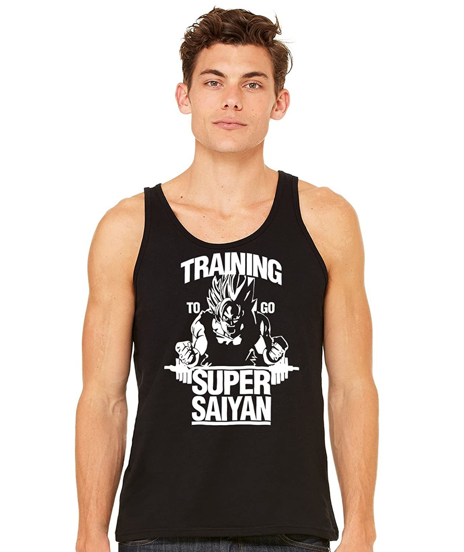Stylotex Herren Tank Top Basic Training to be Super Saiyan