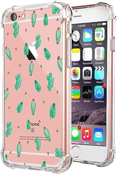Teryei Funda iPhone 6 Plus / 6S Plus Silicona Carcasa Clear TPU ...