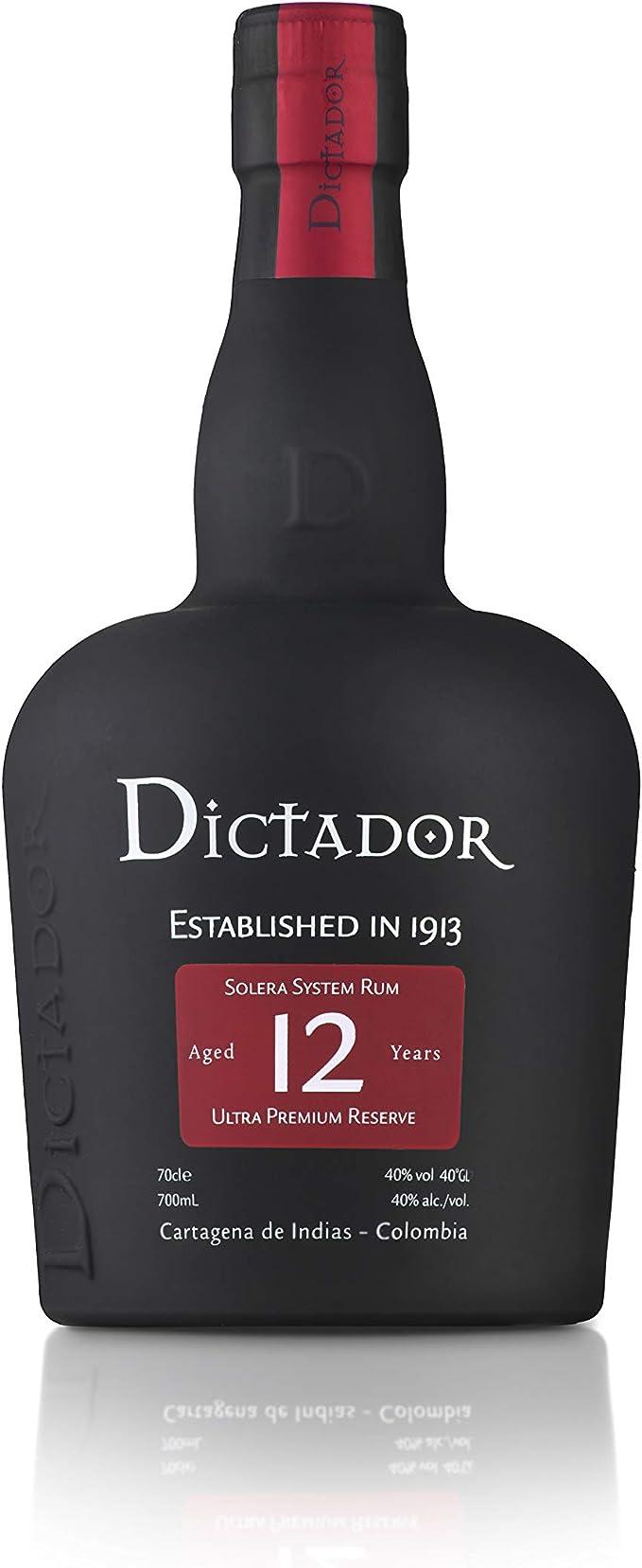 Dictador Rum 12 YO 40%, 1 x 0,7 l