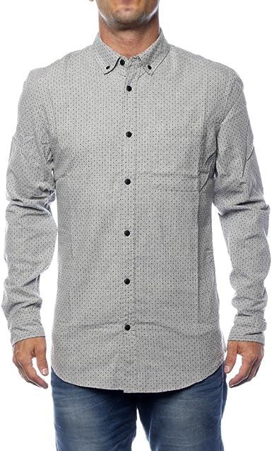 Tiffosi Granger Camisa Casual, Plateado (Grey), (Tamaño del Fabricante:XL) para Hombre: Amazon.es: Ropa y accesorios