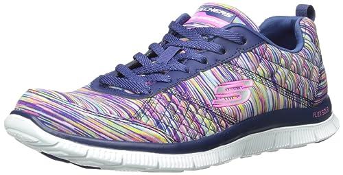 bba6ba70c3fd Skechers Women s Flex Appeal Whirlwind Multisport Outdoor Shoes