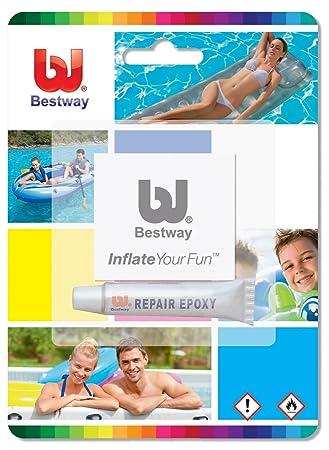 Kit de reparación Bestway para colchones de aire inflables , juguetes, piscinas, etc Lilos