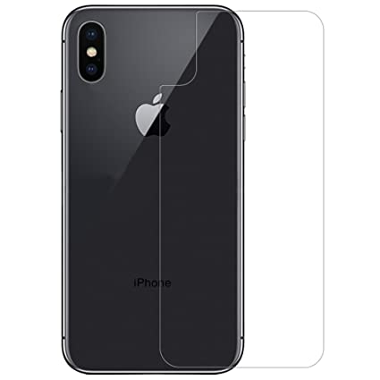 Amazon Com For Iphone X Back Protector Tempered Glass Nillkin Anti