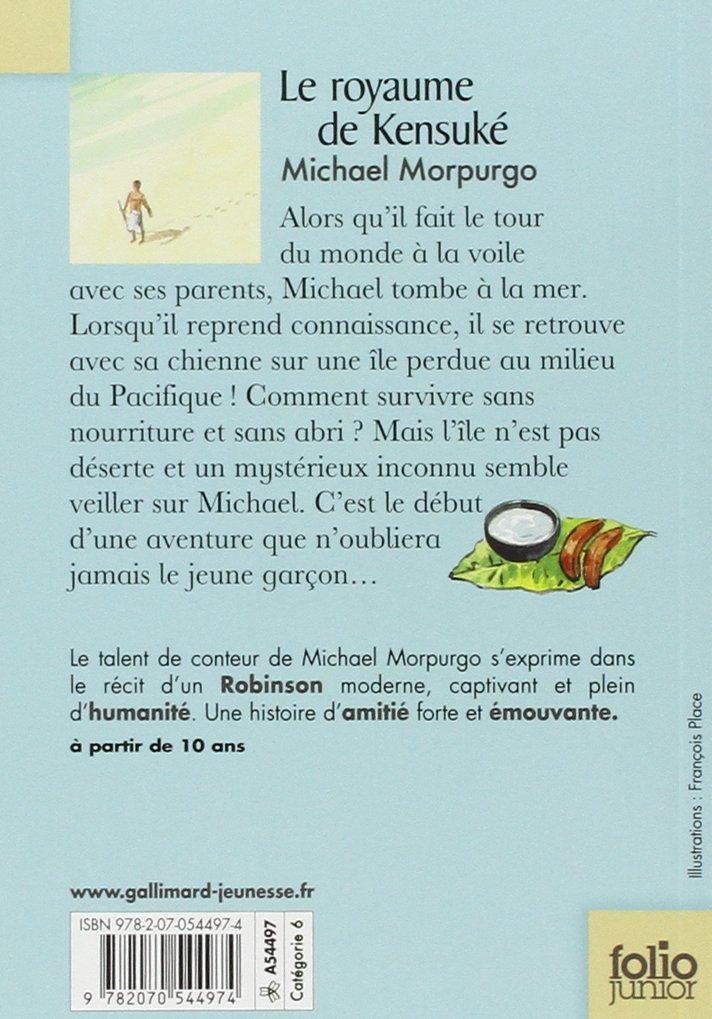 Royaume De Kensuke Folio Junior French Edition Morpurgo