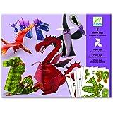 Djeco Folding Paper Toys, Dragons & Chimeras