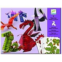 Djeco Kağıt Oyuncaklar/Dragons And Chimeras