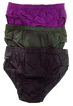 0d69e5a589f0 Dixcy Josh Women's Plain Cotton Panties Pack of 3: Amazon.in ...