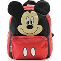 Disney Kids' 12-inch Big Face Mickey Mouse Backpack