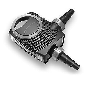 CTF-B 8000 Teichpumpe 70 Watt Eco Motor 8000 l//h 2in1 System Skimmer F/örderpumpe Pumpe Energiesparpumpe