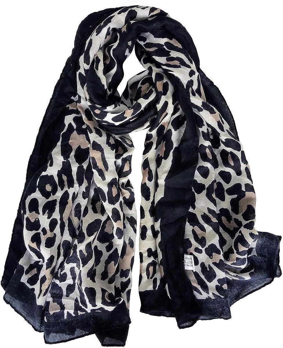 GERINLY Cozy Cheetah Scarfs...
