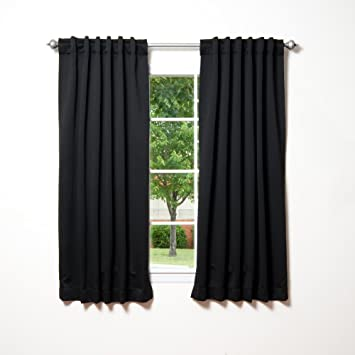 Blackout Curtains blackout curtains 63 : Amazon.com: Best Home Fashion Thermal Insulated Blackout Curtains ...