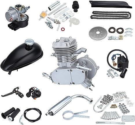 Ridgeyard Kit del motor del Gas Motor 80cc 2 tiempos bicicleta ...