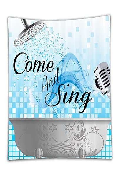 Amazon Com Chaoran Tablecloth Funny Sing Along Inspirational Quotes