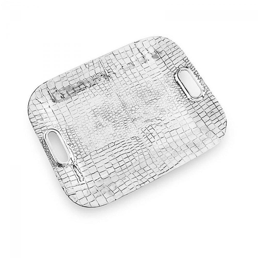 Beatriz Ball_7002 Breakfast-Trays, Metallic