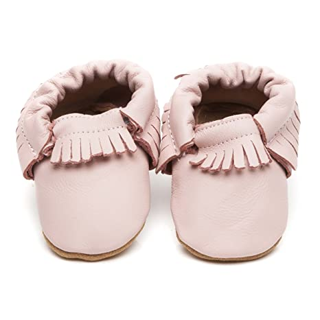 Mocasines para Bebé, color rosa, 18/24 Meses