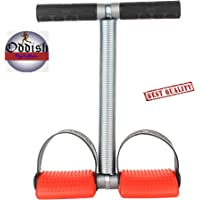 ODDISH B&M Steel Double Spring Tummy Trimmer Abdominal Exerciser Fitness Equipment (Red and Black)