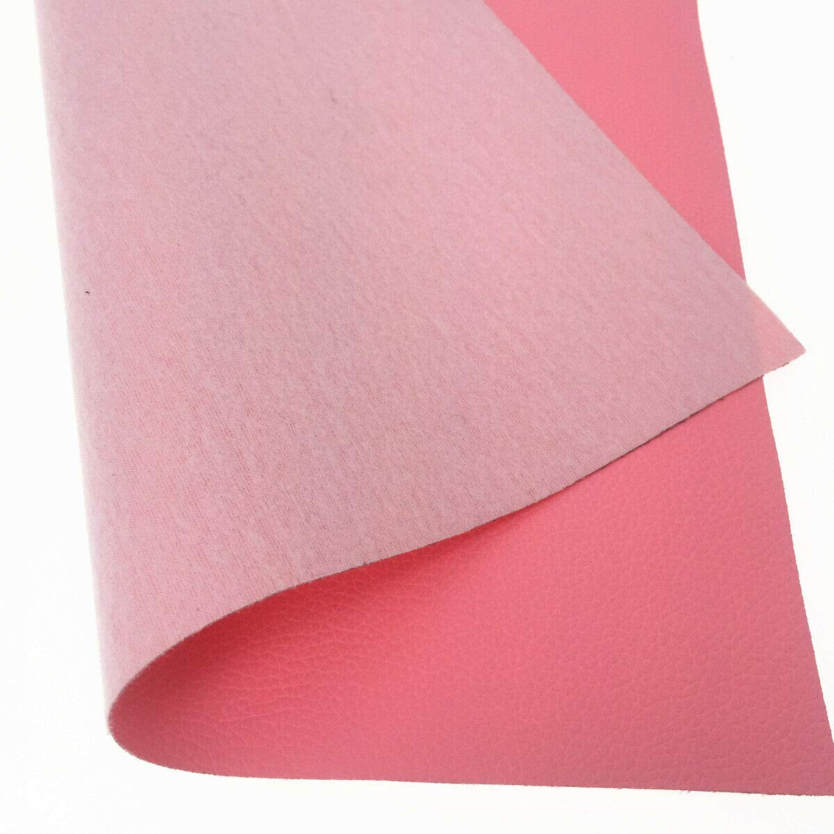 ZAIONE A4 Size Leather Sheets 3pcs 8X12 21cm x 30cm Gold,Pink,Blue Smooth Glossy Mirrored Metallic Faux Leather Fabric for Shoes Bag Bow Earrings Making DIY Craft Mix Color-A