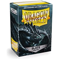 Dragon Shield Card Sleeves, Box 100, Slate Matte