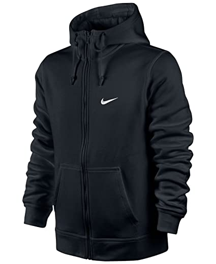 aa0f82d79 Amazon.com : 823531-475 Nike Mens Club Full Zip Hoodie Navy : Sports &  Outdoors