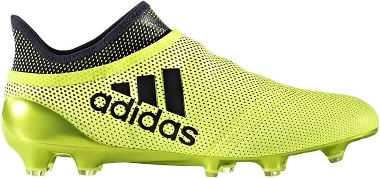 646bb6d3a Amazon.com | adidas X 17 Purespeed Firm Ground Cleats [SYELLO] (7 ...