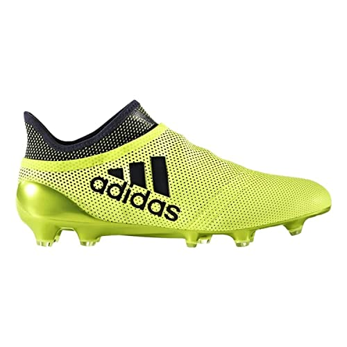 adidas Men s X 17+ PURESPEED FG Soccer Cleats (Solar Yellow)  Amazon ... e52d6c31ffbe