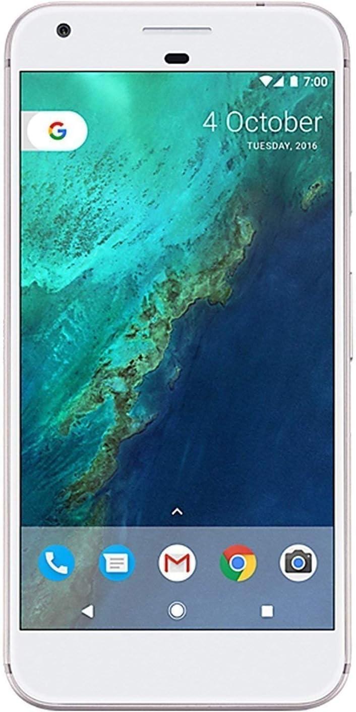 "Google Pixel XL 32GB Verizon and GSM Unlocked, Very Silver, 5.5""(Renewed)"