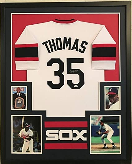 Image Unavailable. Image not available for. Color  Framed Frank Thomas  Autographed Signed Chicago White Sox Jersey ... 6a55cc300