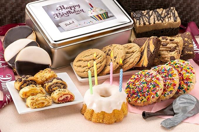 Dulcet Cesta de regalo de feliz cumpleaños Tin-Sprinkle ...
