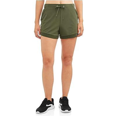 Avia Activewear Women's Walking Shorts (Large 12/14, Sea Turtle) at Women's Clothing store