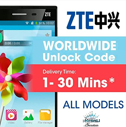 Unlock code For Any ZTE WIFI MODEM DONGLE & Mobile Cell