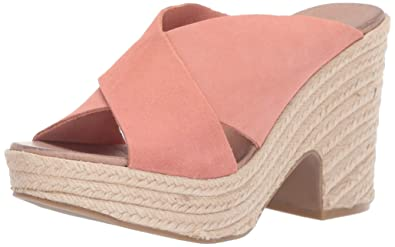 3bd528c5f3 Chinese Laundry Women's Quay Espadrille Wedge Sandal, Clay Suede, ...