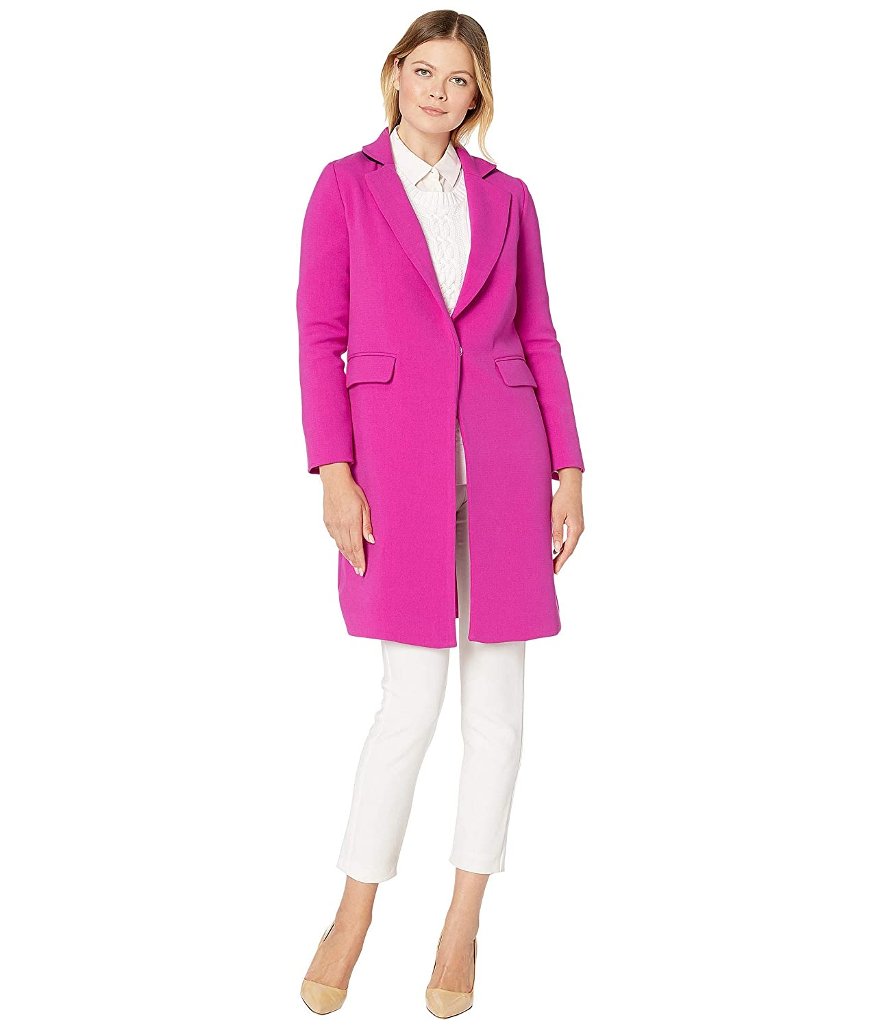 Vince Camuto Double Weave Topper Coat