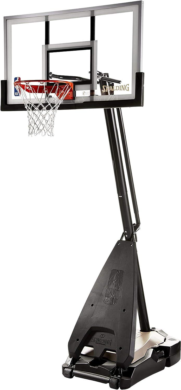 Spalding(スポルディング) 54インチガラス製ポータブルバスケットボールシステム 究極 ハイブリッド ベース マルチ