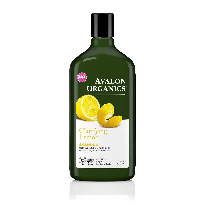 Avalon Organics Clarifying Lemon Shampoo, 11 oz.
