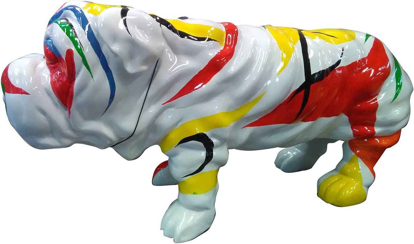 Meubletmoi Statue Chien Balloon baudruche Sculpture Multicolore Design Moderne Pop Art DOGBALLOON