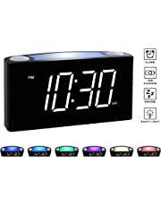 Alarm Clocks Amazon Com