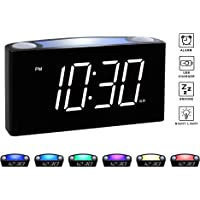 37ed7c84d106b Rocam Digital Alarm Clock for Bedrooms - Large 6.5