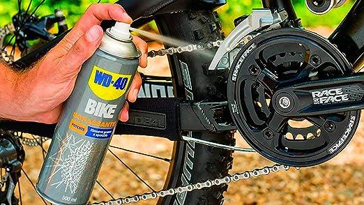 WD-40 BIKE - Desengrasante Cadenas Bicicleta-Spray 500ml: Amazon ...