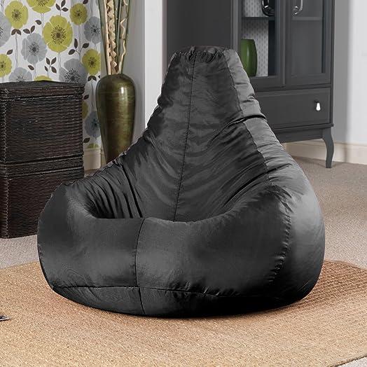 Designer Recliner Gaming Bean Bag BLACK