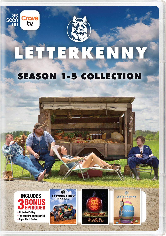 Letterkenny: Season 1-5 Collection Jared Keeso Nathan Dales Michelle Mylett K. Trevor Wilson