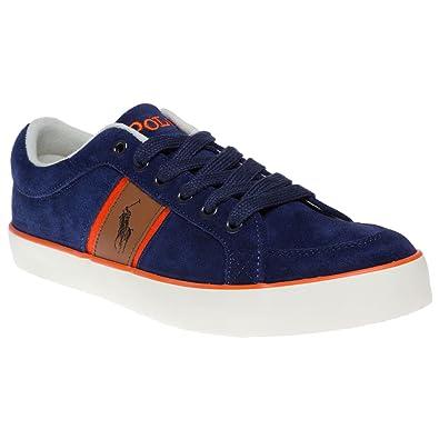 Polo Ralph Lauren Bolingbrook Ii Trainers Blue 6 UK  Amazon.co.uk ... ebd9ede585
