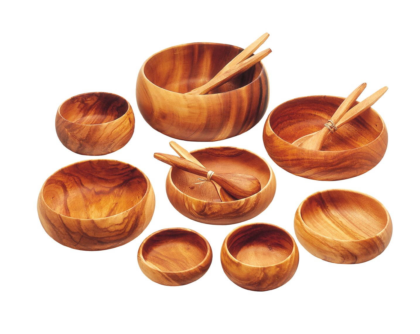 Pacific Merchants Acaciaware 10- by 6- by 2-Inch Acacia Wood Rectangle Serving/Salad Bowl by Pacific Merchants Trading (Image #11)